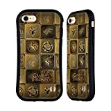 Official HBO Game Of Thrones All Houses Golden Sigils Hybrid Case for Apple iPhone 7 / iPhone 8