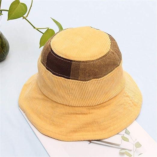 YUXINXIN Japonesa Cara Redonda en Forma de Pana Desgaste Sombrero ...