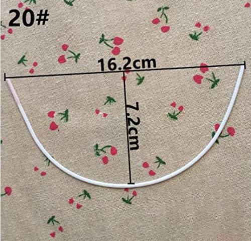 Dalab 70A/32A,75B/34B,80B/36B,85B/38B Bra Steel Ring,Women Underwear Accessory Steel Ring S0038L - (Color: NO20)