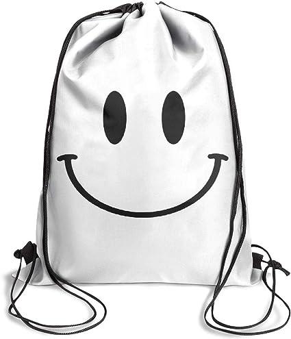 Unisex Cartoon Bag Backpack Foldable Cinch Sack Basic Sackpack Gym