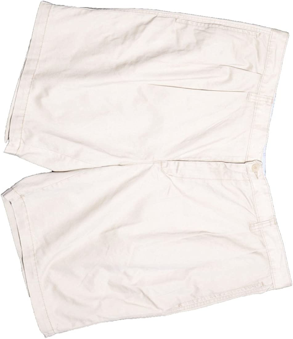 Club Room Shorts, Core Twill Double Pleated