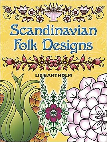 Scandinavian Folk Designs Lis Bartholm 0800759255788 Books