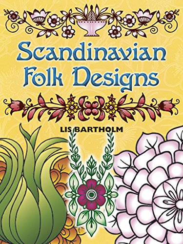 Scandinavian Folk Designs (Dover Pictorial Archive) ()