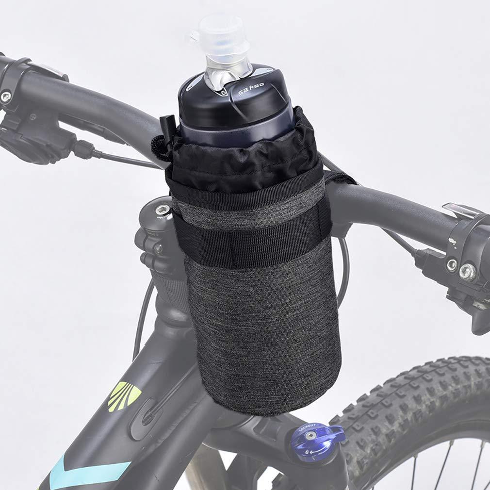 Lightweight Stroller /& Bicycle /& Bike Cup Holder for Drinks,Food,Snack Storage BOVON Bike Water Bottle Holder,Insulated Bike Bag with Stable Triangular Bike Frame /& Handlebar Attachment Design