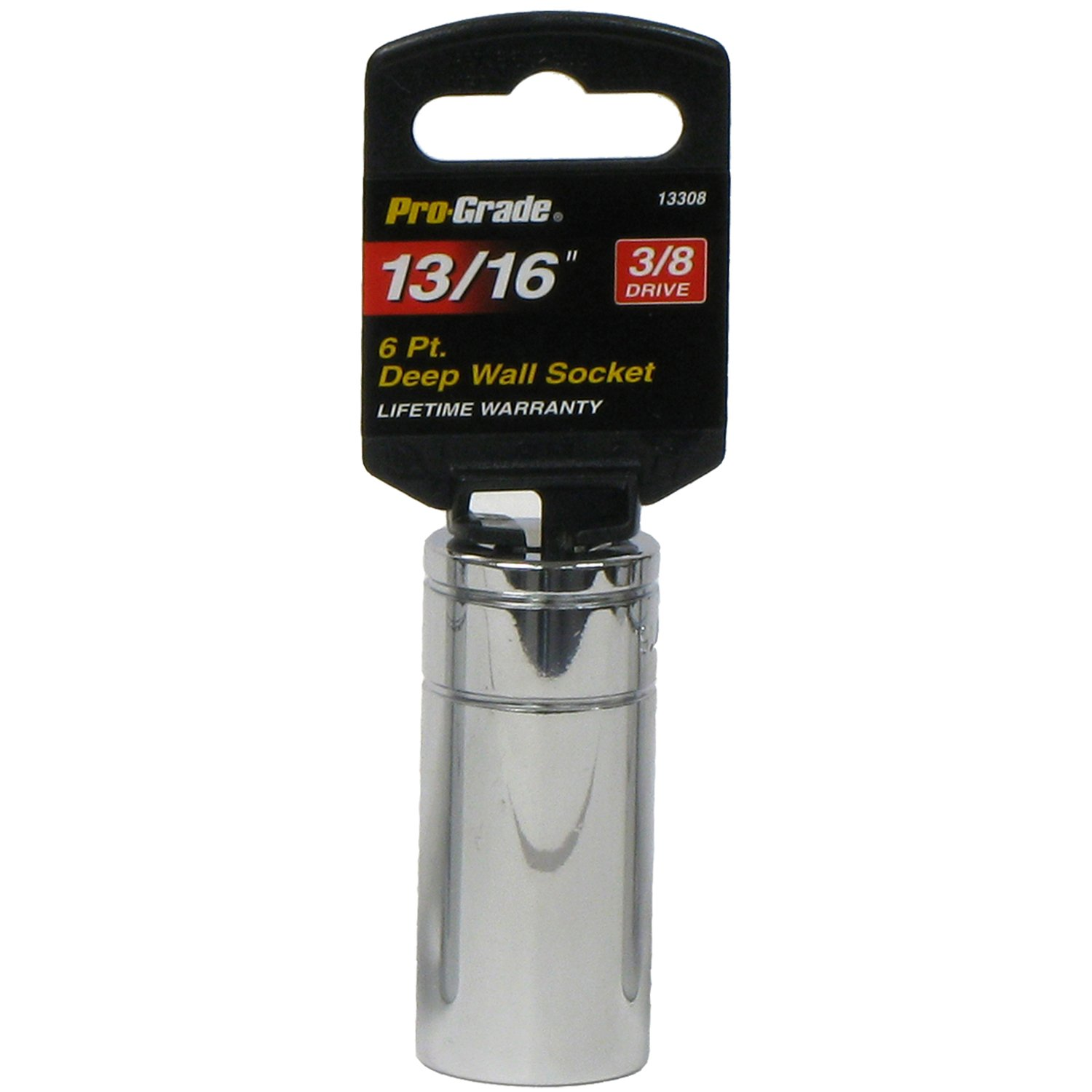 Pro-Grade 13255 3//8-Inch Drive with 18mm Spark Plug Socket