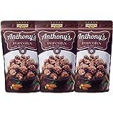 旭製菓 アンソニーズポップコーンチョコレート&アーモンド味 45g×3袋