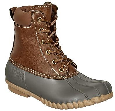 edca514cfdc Amazon.com | Pierre Dumas Outwoods Kids Autumn Duck Boots | Boots