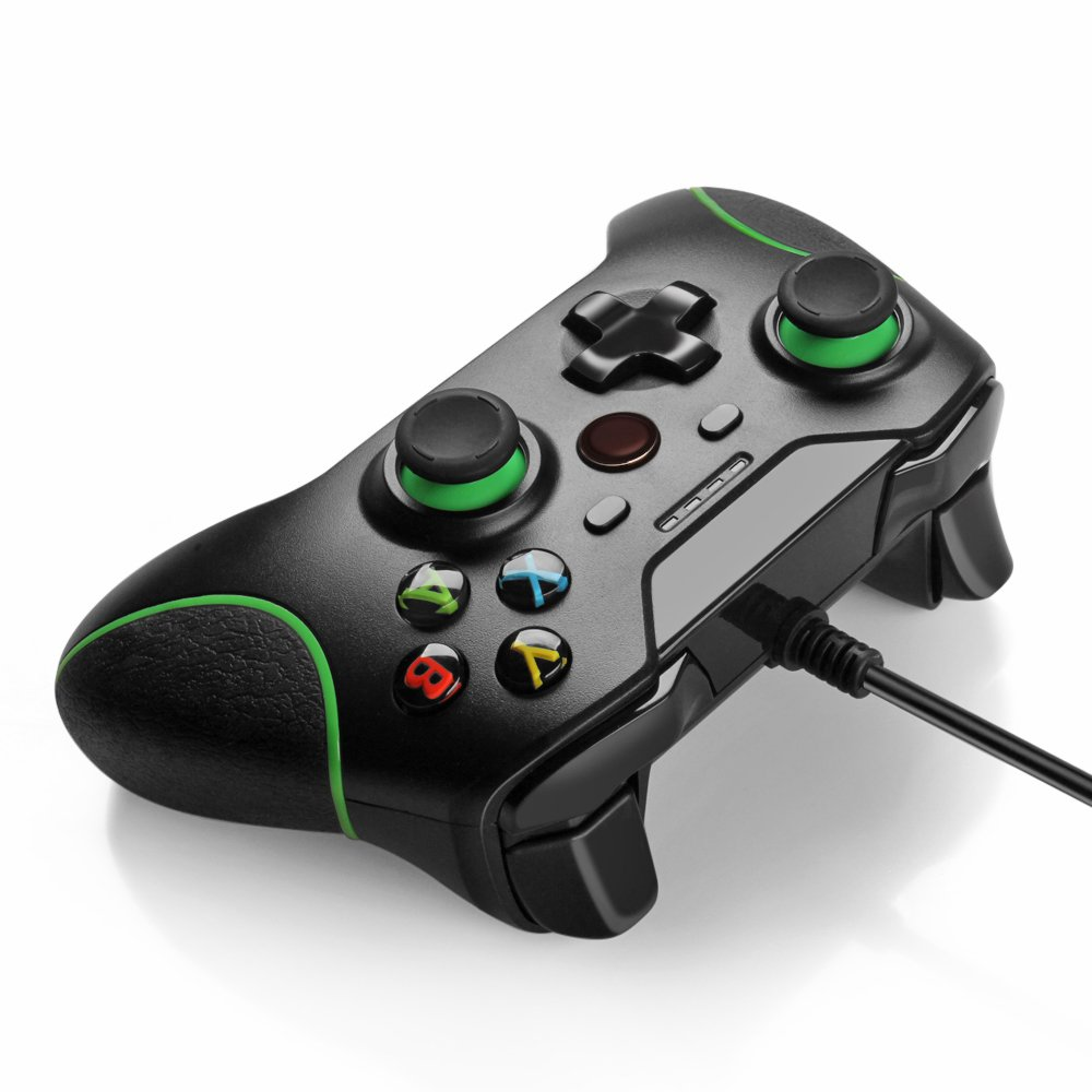 Amazon.com: QUMOX USB Wired Gamepad Controller for XBox One ...
