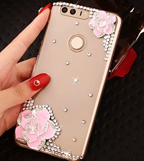 best loved 73f5a 201fd Print Studio Huawei Honor 9 Lite Bling Luxury Printed: Amazon.in ...