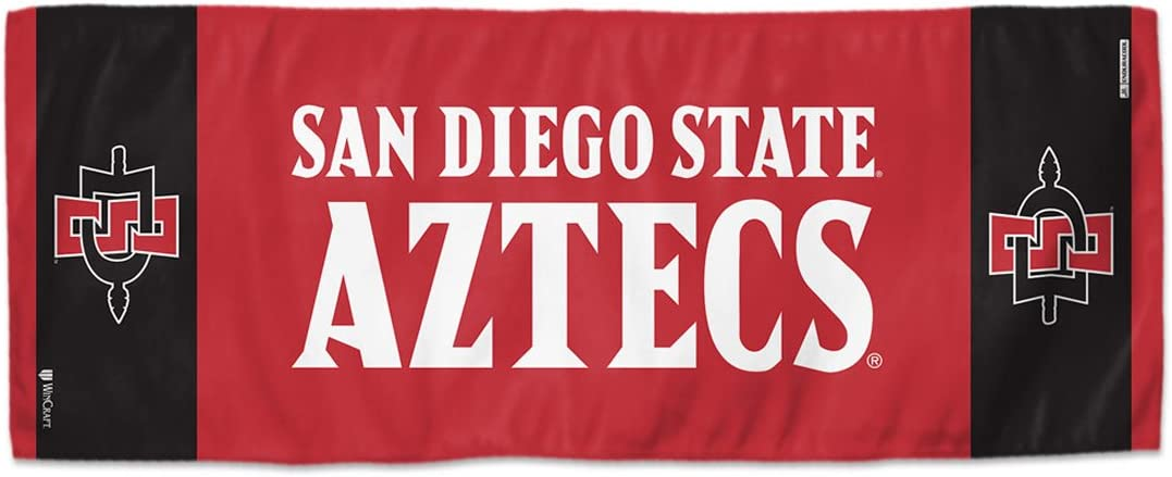 WinCraft San Diego State Aztecs Cooling Towel Premium 12 x 30 inch 2 Sided