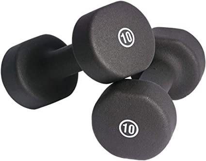 1 Pair Gym Workout Hand Weights Dumbell Set 10LBS 3LB 2LBS 8LBS
