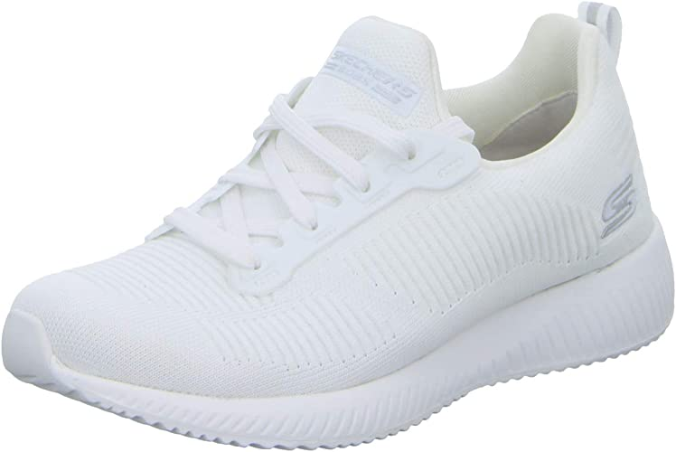 Skechers Damen Bobs Squad 31362 wht Slip On Sneaker