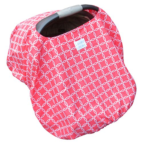 Premium Loved Littles Protective 4-in-1 Baby Car Seat Cover,