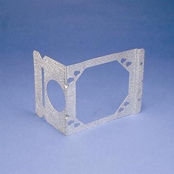 Erico H4 caja soporte de montaje para eléctrica caja de rosca, 4 en & 4 11/16 en,: Amazon.es: Bricolaje y herramientas