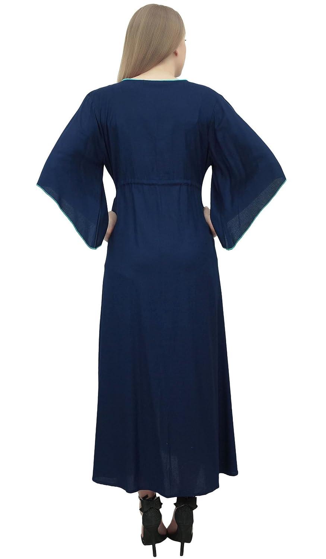Bimba Vestido De Maternidad con Cintura Bordada En Cintura De Kimono De Mujer: Amazon.es: Ropa y accesorios