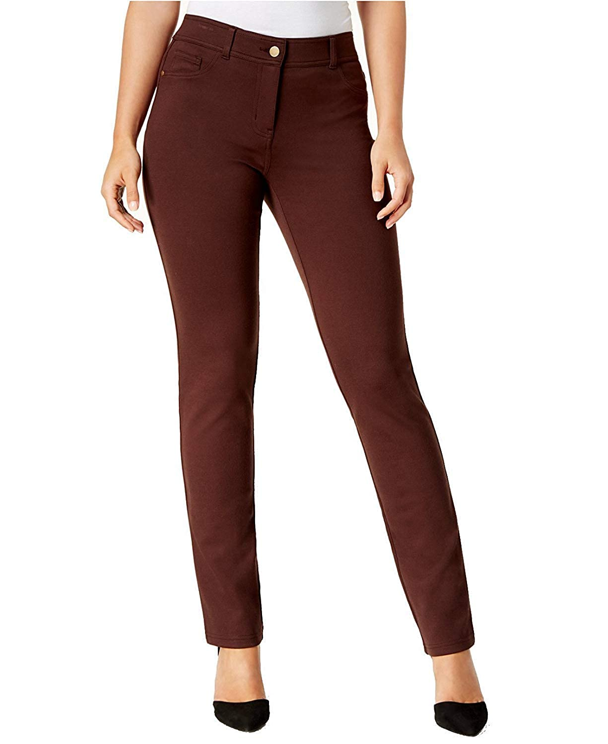 Rich Truffle Style & Co...... Women's FauxPocket SlimFit Pants
