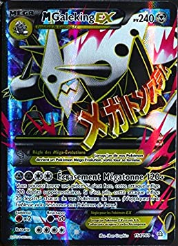 Carte Pokémon 154 160 Méga Galeking Ex 240 Pv Full Art Xy