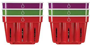 Crisp Berry Baskets, Set of 6 (Various colors) - Sam's Club