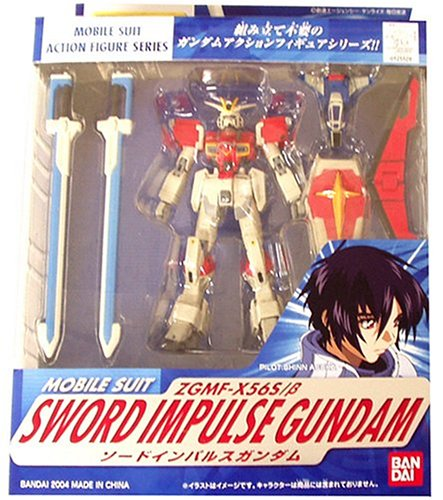 "MS in Action Sword Impulse Gundam 4.5"" action figure"
