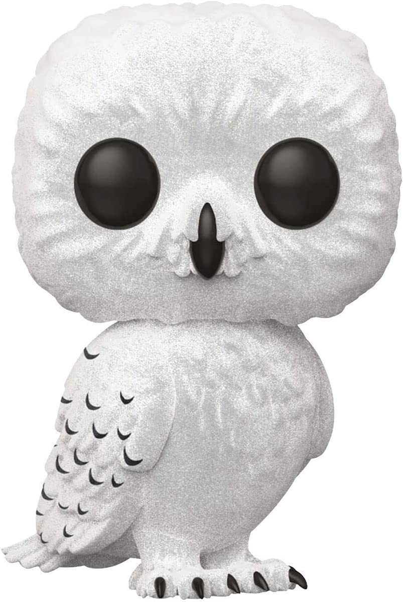 Flocked Harry Potter Hedwig Vinyl Figure 76 Funko Pop Standard