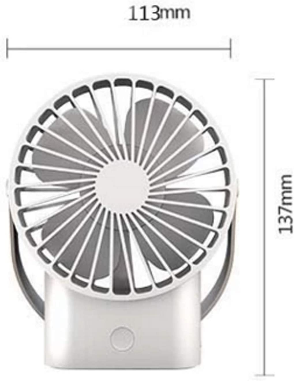 XIAOF-FEN Handheld Portable Handle Fan USB Cooling Table Electric Fan Outdoor Personal Desktop Fans USB Fan