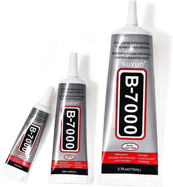 B7000 Glue For Rhinestones Crystal Adhesive Jewelry 9ml 15ml 50ml 110ml Needles Epoxy Resin Diy Jewelry Crafts Glass Supplies Color 25ml Amazon Ca Home Kitchen