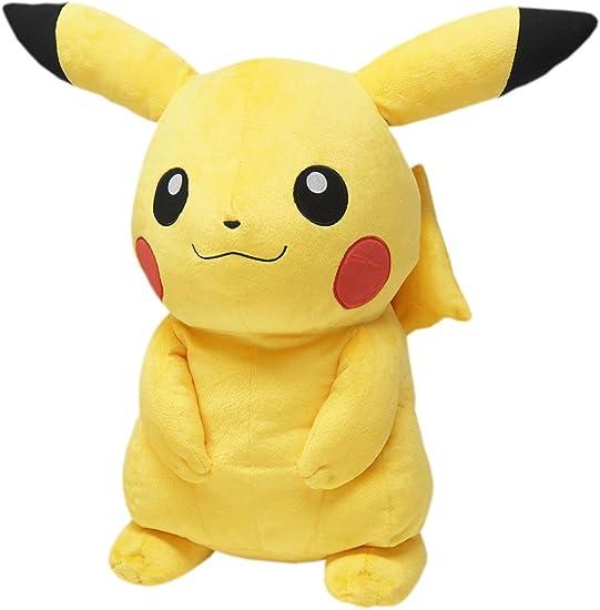 Amazon Com Sanei Pokemon All Star Series Pp53 Pikachu Plush 18 Large Toys Games