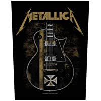 Metallica Hetfield Guitar espalda parche