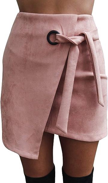 Faldas para Mujer De Moda Casual Falda Verano para Mujer Moda ...