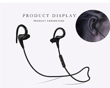 Auriculares Bluetooth, deporte, inalámbricos, estéreo 4.1 HD, impermeables, antisudoración, ejercicio
