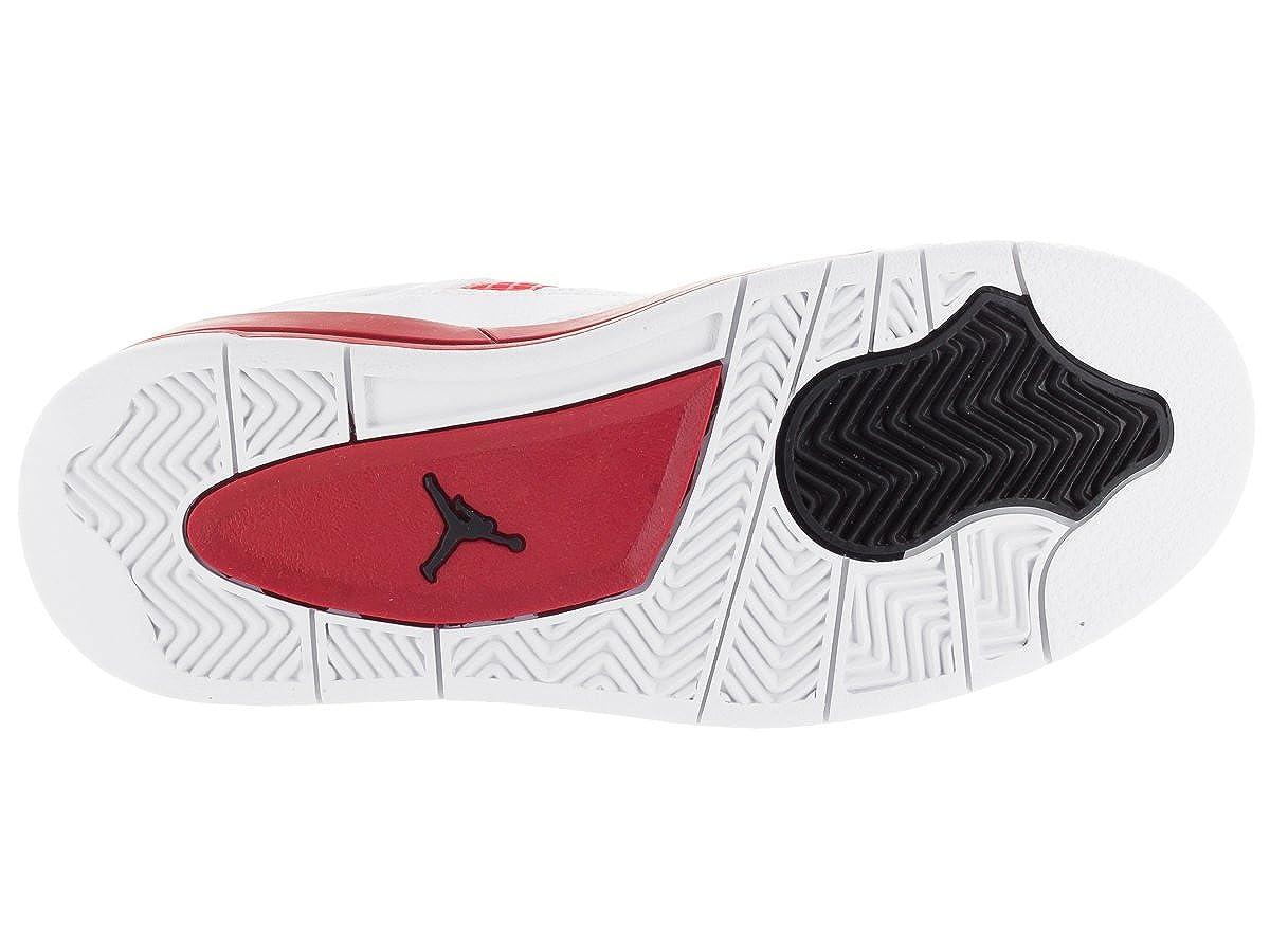 NIKE 308499-106 PRE-School Shoes White//Black Gym RED PS AIR Jordan AJ 4 Retro BP