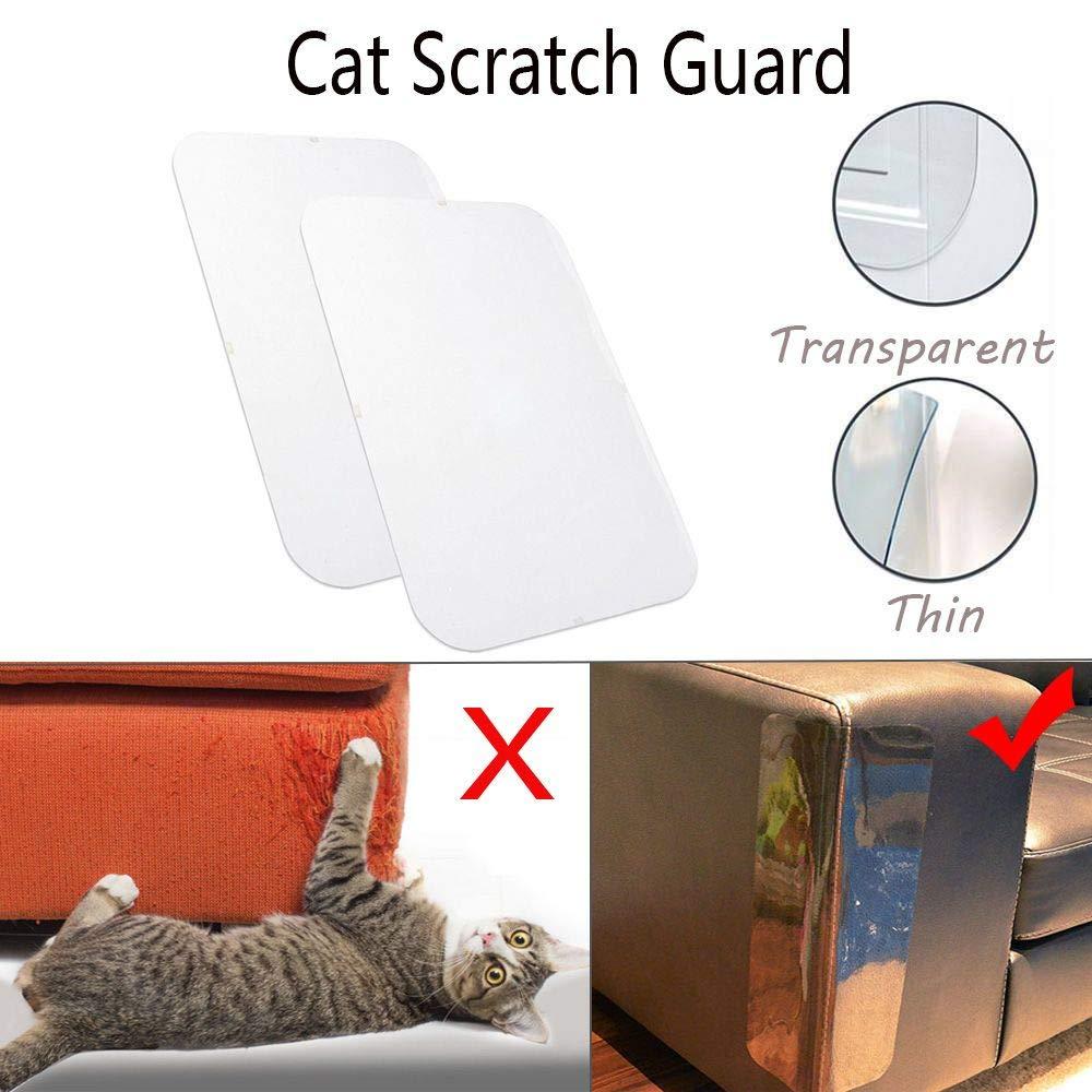 Genenic 2 Pack Cat Scratch Furniture 18 X 5 9 Inch Clear