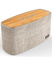 Enceinte Bluetooth Speaker Portable 30W, COMISO Haut-Parleur Bluetooth sans Fil 3D Digital Sound 20 Heures d'autonomie en Lecture, Compatibilité iphone, Android, Smartphone