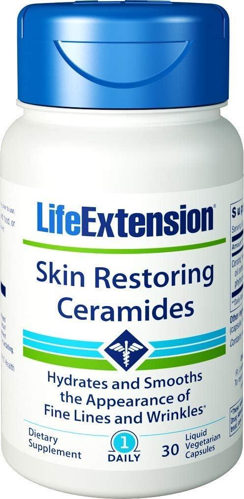 Life Extension Skin Restoring Phytoceramides with Lipowheat