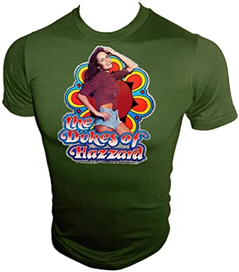 5dc41bf4 Image Unavailable. Image not available for. Color: 80's Daisy Duke  Catherine Bach The Dukes of Hazzard Vintage Distressed T-Shirt