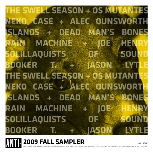 Anti Sampler Fall 2009