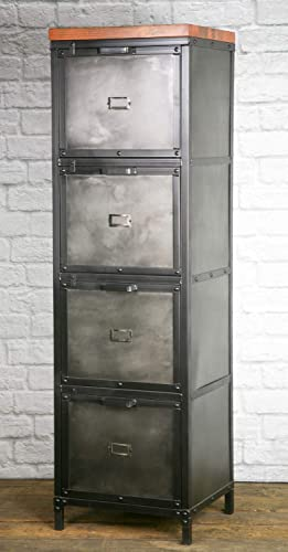 Amazon Com Industrial Filing Cabinet Modern Industrial File Drawer Vintage Industrial Office File Cabinet Lingerie Chest Dresser Handmade