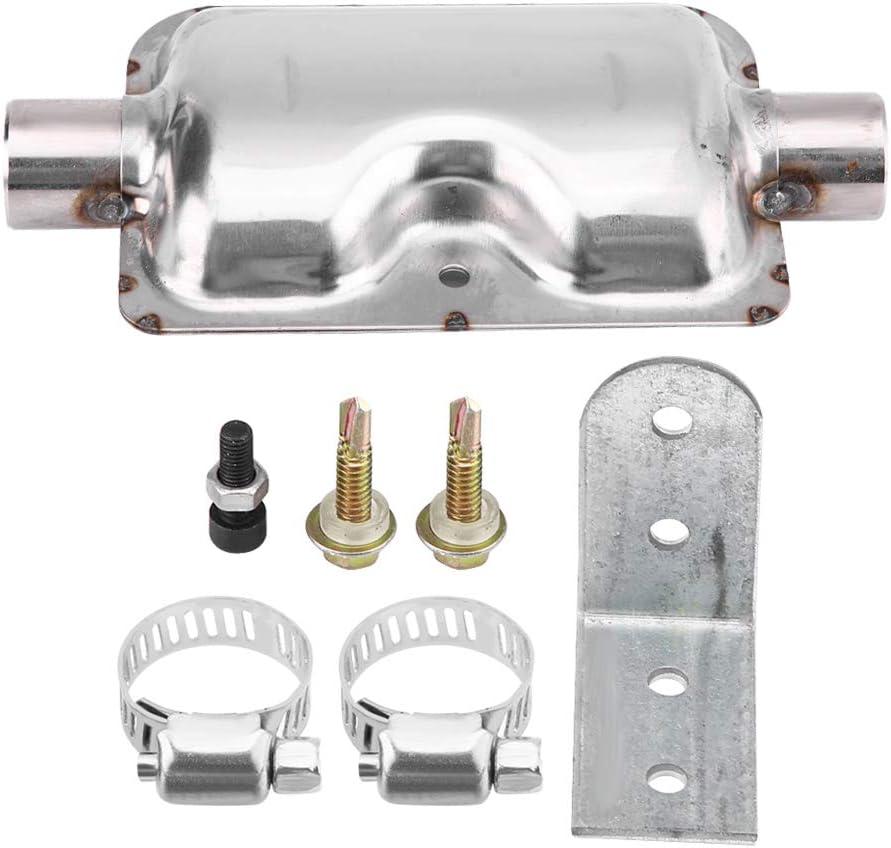 KIMISS 24mm 0.94inch Tubo di Scarico Silenziatore Silenziatore Staffa Staffa per Ebespacher Diesel Riscaldatore