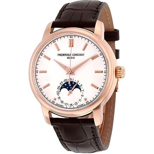 FREDERIQUE CONSTANT Classics MOONPHASE Reloj DE Hombre AUTOMÁTICO FC-715V4H4: Amazon.es: Relojes