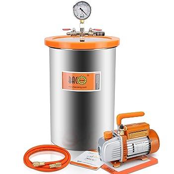 BACOENG 5 Gallon 3.6 CFM HVAC Vacuum Pump
