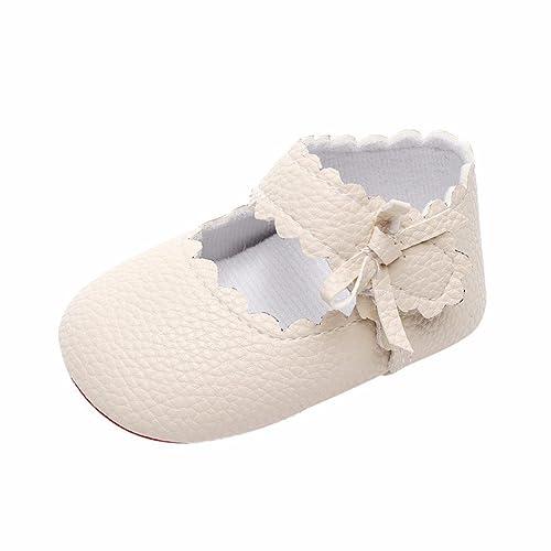 2018 Nueva Primavera Verano Zolimx 💕 Bebé Recién Nacido Niñas Bowknot Zapatos de Suela Suave Zapatos Bebe Niña