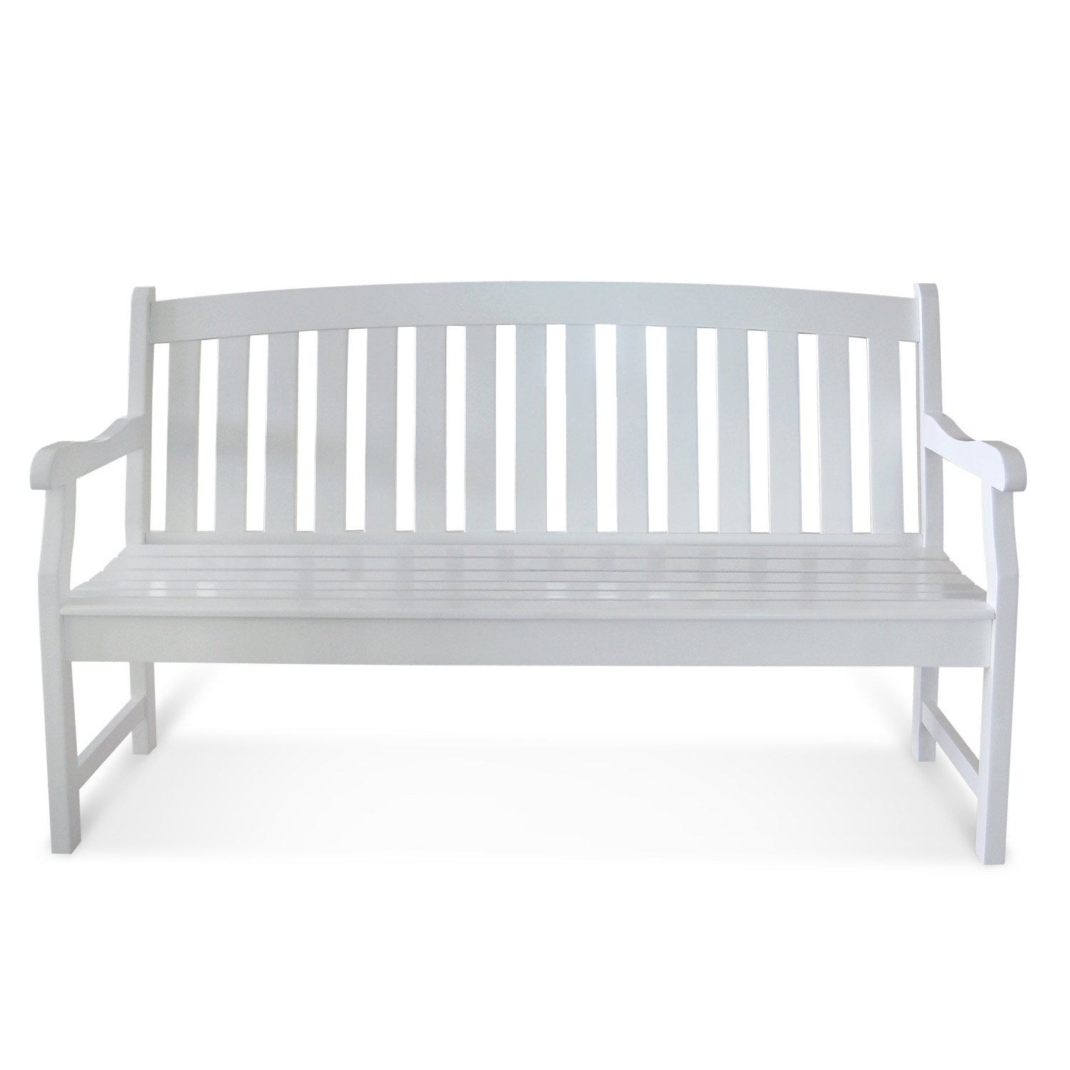 furniture garden bench rose alexander wooden new white broadfield acacia painted england