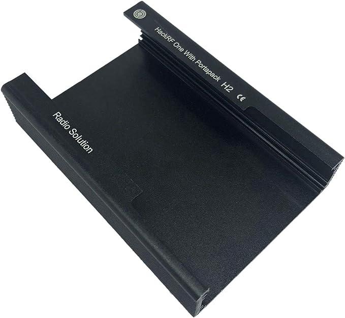 Noblik Carcasa de Metal Carcasa de Aluminio Negra Carcasa de Carcasa para PORTAPACK H2 One SDR Radio Case