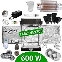 Kit de cultivo interior 600W SHP Cooltube Protube