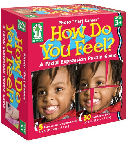 "How Do You Feel? Board Game (Photo ""First Games"")"