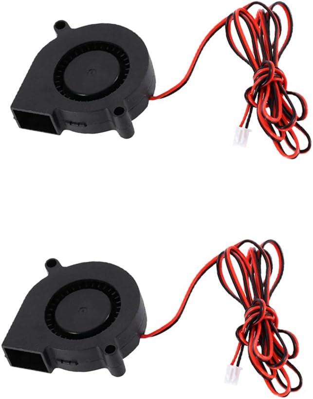 2pcs Ventilador de Radial Ultra-Silencioso Turbo 24V Herramientas ...