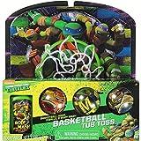 Teenage Mutant Ninja Turtles TMNT Bathtub Basketball Tub Toss Gift Set