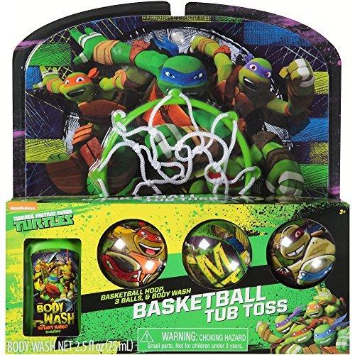 Teenage Mutant Ninja Turtles TMNT Bathtub Basketball