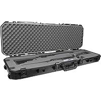 Plano PLA11852 All Weather Case, Doublex 40mm Rifle/Shotgun, Black, 52