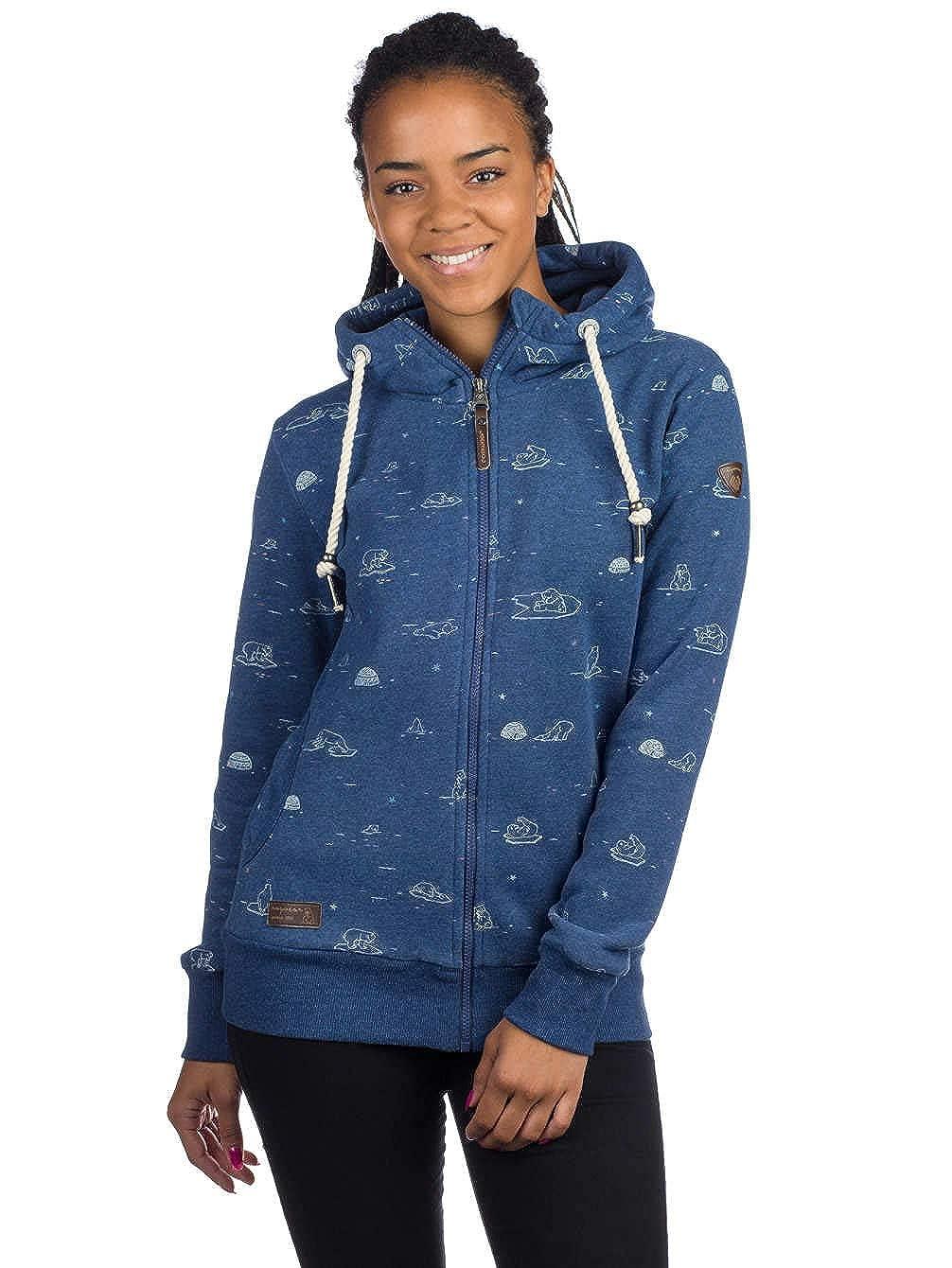 Ragwear Angel Zip Sweatshirt Dusty Blau B07FCN5KLF Kapuzenpullover Kapuzenpullover Kapuzenpullover Sehr gute Farbe 0054a5